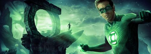 I'm a Green Lantern fan; it's probably my favorite of the DC properties, I love the concept of being able to make your will manifest through a ring, the space...